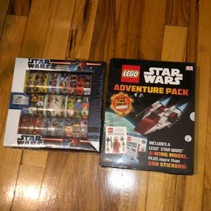 NWT STAR WARS STICKERS AND BOOK!